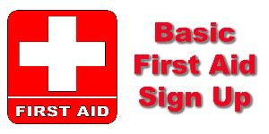 first aid sign up
