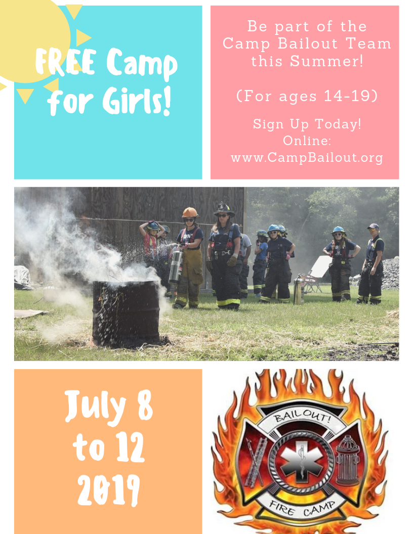2019 Camp Bailout Flyer